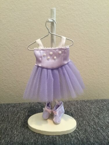 Vintage Ballerina Hanging Dress And Shoes On Stand