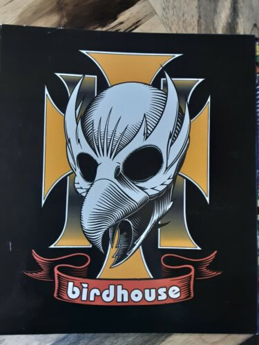 Rare Birdhouse Skateboard School Binder Folder Tony Hawk Berra Reynolds RARE!!!!