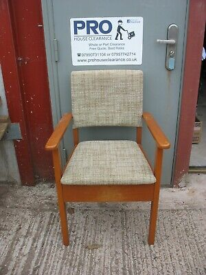 A SINGLE ARMCHAIR COMMODE in very good hardly used condition + CAN HELP DELIVER