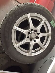 Summer tires with rims size 195/60S15