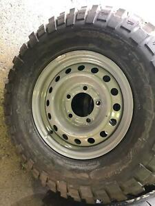 "LANDCRUISER W/MATE 16""STEEL WITH 235/85R16 BFG KM2 Kedron Brisbane North East Preview"