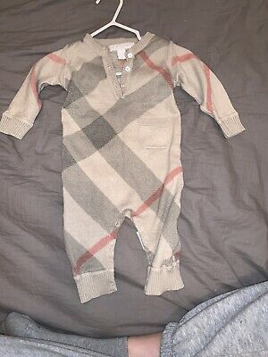 Burberry Cashmere Baby 6months Excellent Condition!