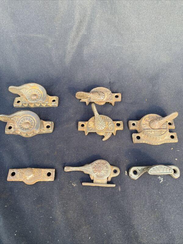 Antique EASTLAKE SASH LOCKS & Window Hardware