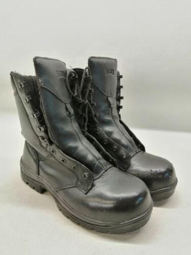 Ex Police Boots Magnum Grade 1 Black Leather Uniform Patrol Duty Work No Laces