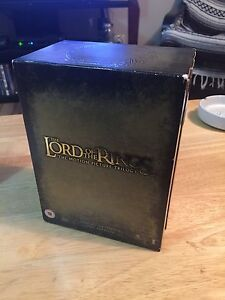 Lord of the Rings trilogy box set (Extended ed.)