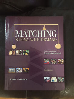 Matching Supply with Demand textbook