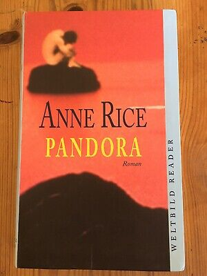ANNE RICE - Chronik der Vampire PANDORA  Top Zustand for sale  Shipping to South Africa