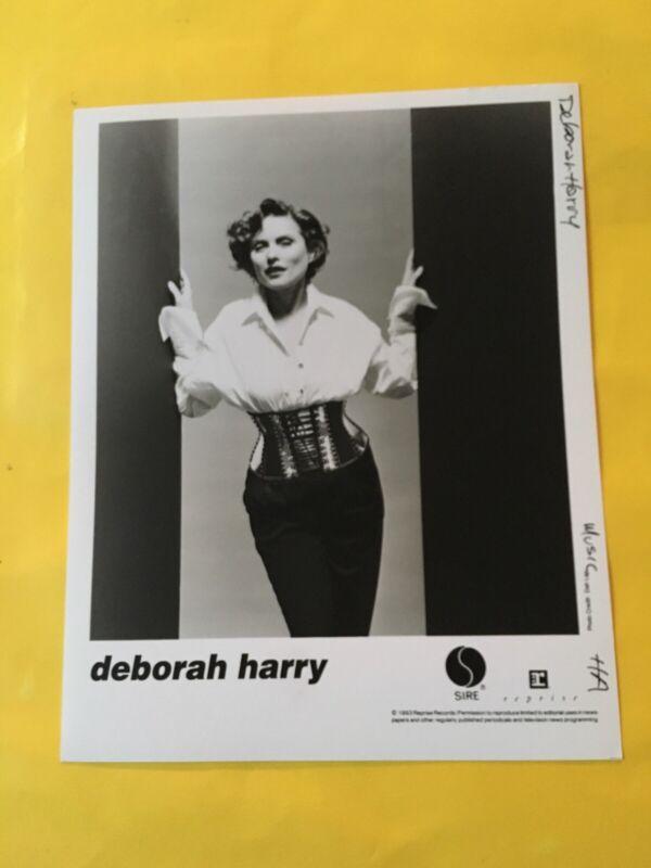 """Debbie Harry Press Photo 8x10"""", Blondie, Geffen 1987."""