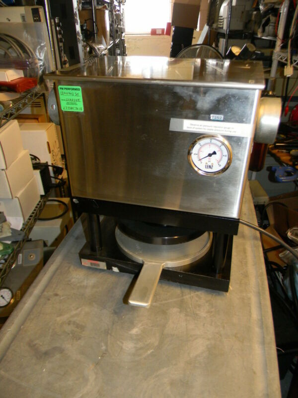 """1500 Pound 8"""" Platen Pneumatic / Air Powered Lab Press (No Make or Model on it)"""