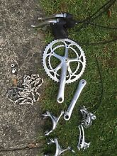 Campagnolo chorus 8 speed groupset/wheelset Mortdale Hurstville Area Preview