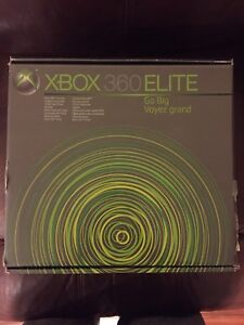 Xbox 360 Elite with games and accessories!