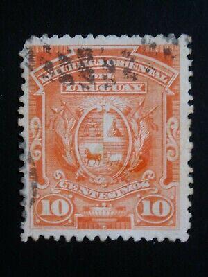 URUGUAY 1 USED STAMP SC # 85