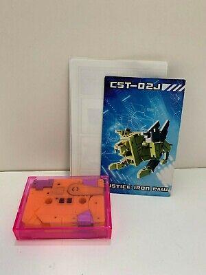 Transformers STEELJAW kfc 3rd party cassette CST-02J