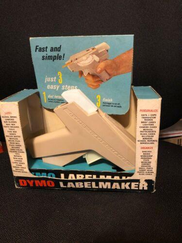 Vintage DYMO Home Label Maker Model 1040  1964