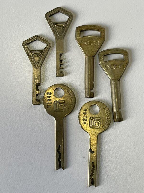 Rare Vintage Collectable Keys Abloy,Baton…Locksmith