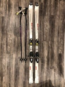 Atomic Skis and poles