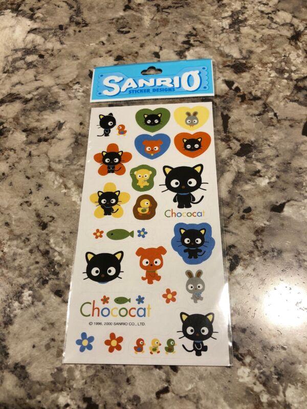 Sanrio Chococat Stickers Vintage 2000 Rare