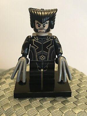 Custom Marvel X-Men Lego Minifigure Super Hero Wolverine, New](Super Hero Custom)