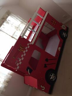 Kids Bunk Bed-Fire engine-Excellent Condition