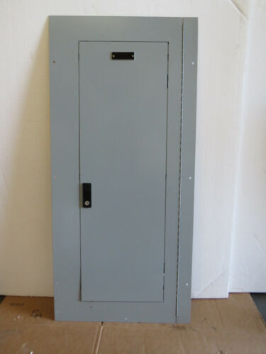 """GE AF43SDUM A-Series II Panelboard Breaker Panbel Cover 43"""" x 20"""" with Key"""