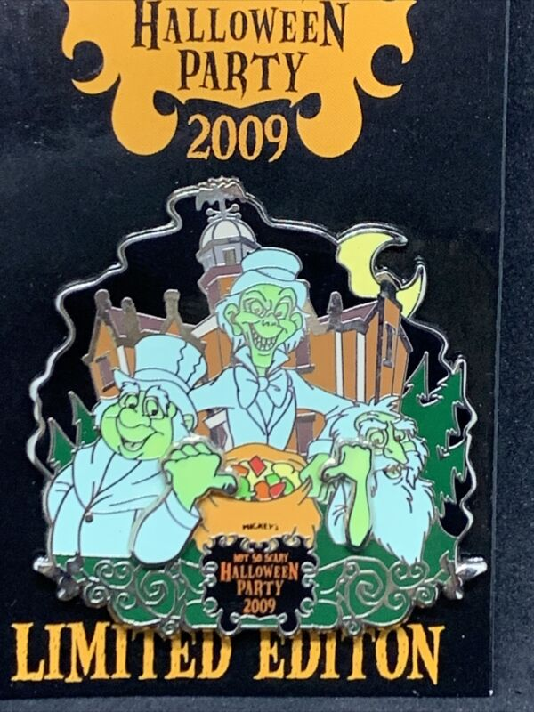 Disney WDW MNSSHP 2009 Hitchhiking Ghosts Haunted Mansion LE 2000 Pin 72236