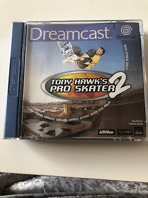Tony Hawk's Pro Skater 2 Sega Dreamcast PAL Tony Hawks Skater - MINT CONDITION