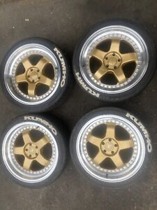 Wanted: Envizio RS1 Gold Machined Lip Wheels with Rubber