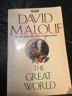 The Great World by David Malouf. Nic's books