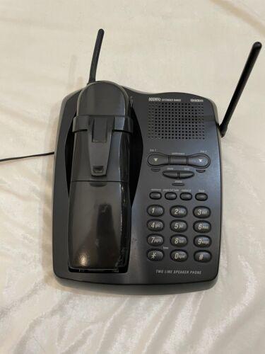 Uniden Vintage 900Mhz Extended Range Two Line Speaker Cordless Phone