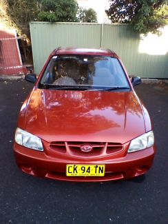 $1250 Accent  155,000klms REGO 22 DEC