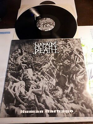 NAPALM DEATH human garbage LP carcass benediction repulsion nasum wormrot