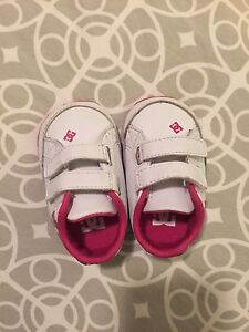 Baby girl shoes DC size 2