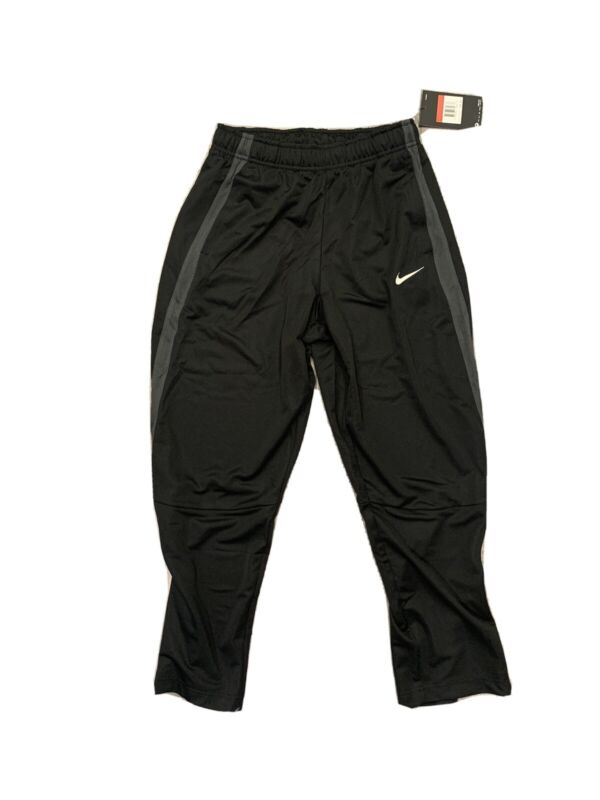 NWT NIKE YOUTH PANsT SIZE YOUTH L BLACK NWT 836307-020