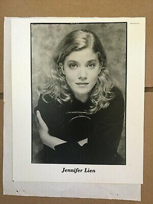 Jennifer Lien, Star Trek Voyager, original vintage headshot photo with credits