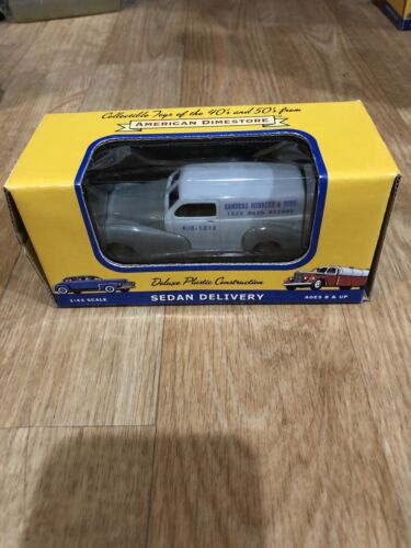 F1) Dreamstore Sedan Delivery 1/43 Sanders Hobbies And Toys Gray New