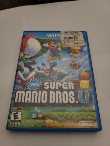 New Super Mario Bros. U  - $16.99