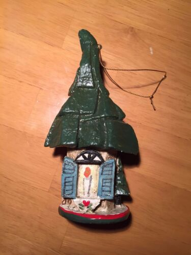 House of Hatten Cottage Christmas Ornament 1991 Gnome House