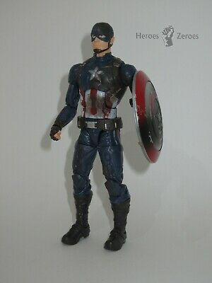 Marvel Legends Series Civil War 3-Pack Battle-Damaged CAPTAIN AMERICA