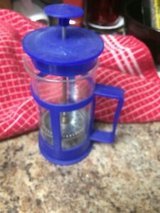 1  cup French press. Hardly used works great!