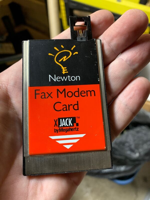 Newton PCMCIA Fax Modem Card H0086