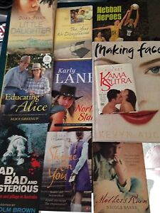 Pack of books Clayfield Brisbane North East Preview