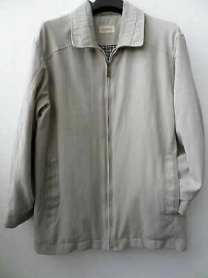 Smart Carabou Classic Men's Stone/Cream Soft Touch Jacket/Coat Size M
