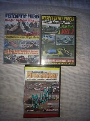 banger racing bundle.DVDs Greatest Hits Ever.