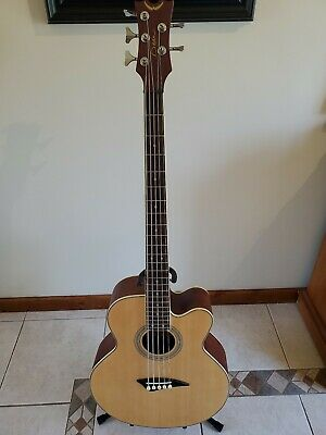 Dean EAB C5 Acoustic/Electric Bass Guitar