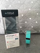 Fitbit ChargeHR Fitness/Sleep Wristband [Aqua/Teal] - As New! Doncaster Manningham Area Preview