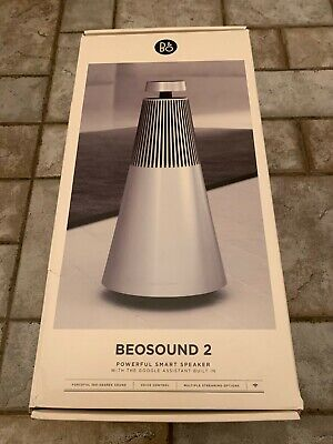 Bang & Olufsen B&O Beosound 2 Speaker, Voice Assistant, Natural Aluminum 1666811