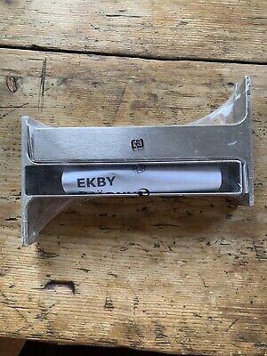 "Ikea EKBY BJARNUM 7.5"" Connecting bracket aluminum New"