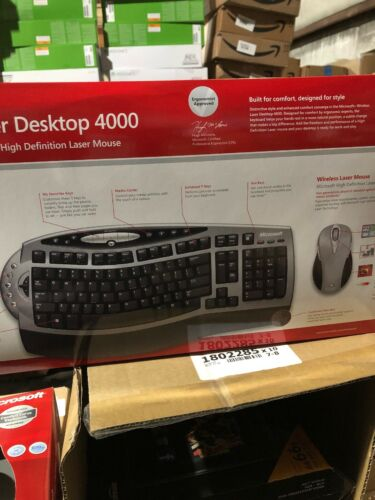 4GC00002 - Microsoft Wireless Laser Desktop 4000 Keyboard -