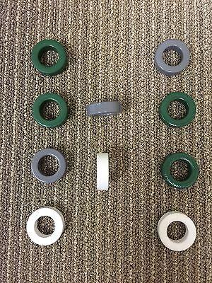 Fair-rite 5961001701 Coated Ferrite Core F-125-61c Toroid 61 Matl 10 Pieces