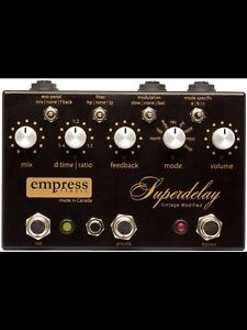 EMPRESS VINTAGE MODIFIED SUPERDELAY ( hand made in CANADA)